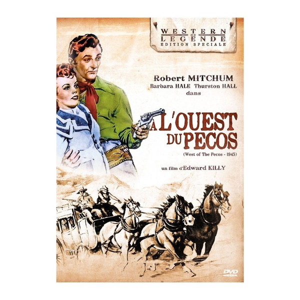553-A l'OUEST DU PECOS  de Edward Killy 1945  USA
