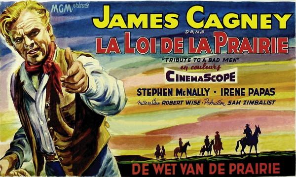 545-545-LA LOI DE LA PRAIRIE de Robert Wise 1956 USA