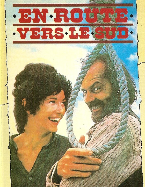 494-EN ROUTE VERS LE SUD  de Jack Nicholson 1978