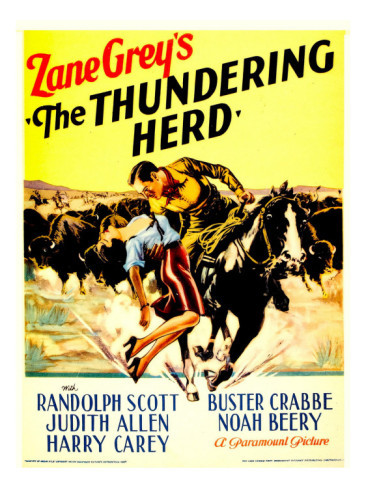 THE THUNDERING HERD de Henry HATHAWAY  USA 1933
