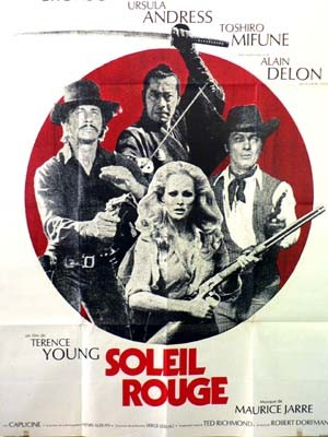 526 SOLEIL ROUGE  de Terence Young1971 France-Italie