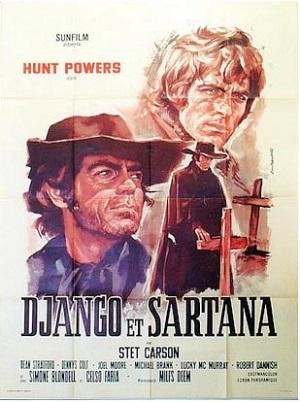 Django & Sartana affiche