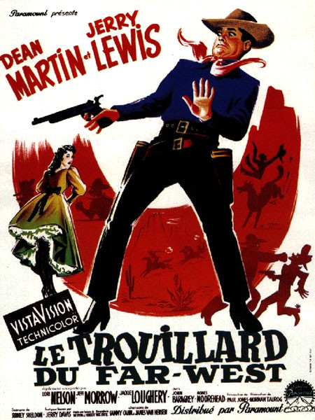 493-Le trouillard au Far-West 1956 de Norman Taurog