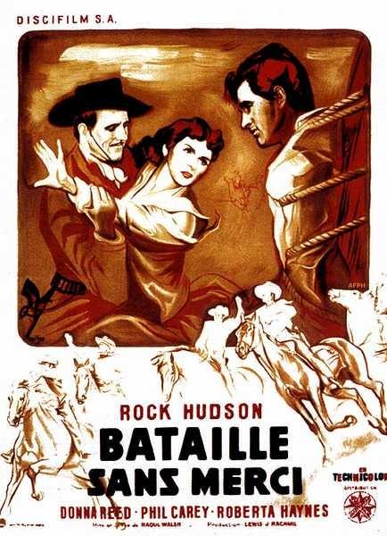 497-BATAILLE SANS MERCI  Raoul WALSH   USA