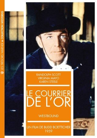 489-LE COURRIER DE l'OR de Budd Boetticher  USA 1959