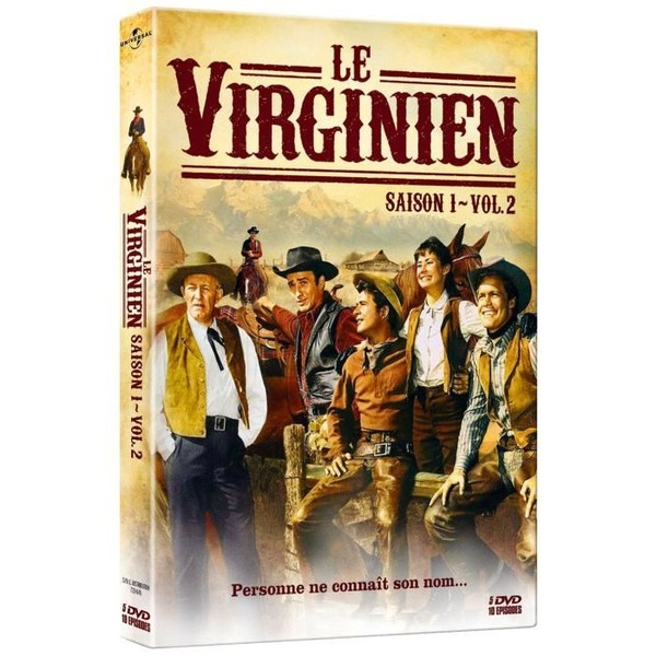 532-LE VIRGINIEN   (1962–1971) USA Saison 1- volume 2